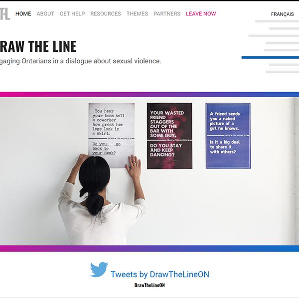 Draw the Line 600 x 600